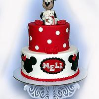 Minnie mouse cake..