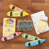 Decorated Back to School Cookies