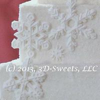 Snowflake Cake by 3DSweets