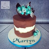 x Coconut Fault-line Cake x