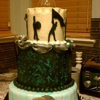 marching band/color guard cake