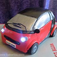 Smart Car Cake