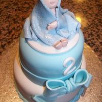 Little Boys 2nd birthday Cake