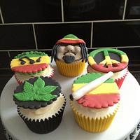 Reggae cakes