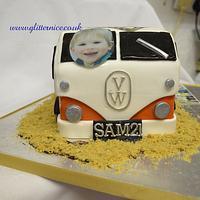 Blink 182 Camper Van by Alli Dockree