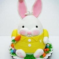 Easter Bunny Cake by Giselle Garcia