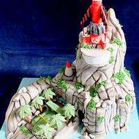 Tracey Island Cake