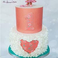 Ballerina teddy cake