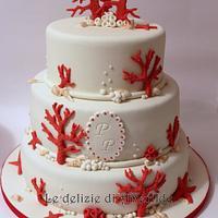 Corals cake