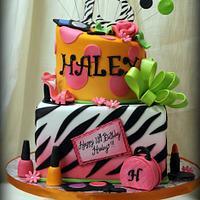13th Birthday Diva Cake!