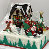Comes Santa Claus