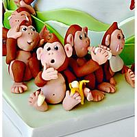 21 Little Monkeys and a Baby by Bobie MT