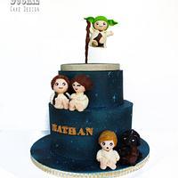 Star Wars Christening Cake