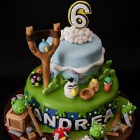 Angry birds! by Caramel's Cake di Maria Grazia Tomaselli
