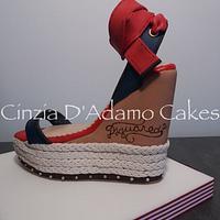 Dsquared2 Espadrillas Cake