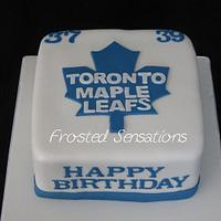 Toronto Maple Leaf Cake