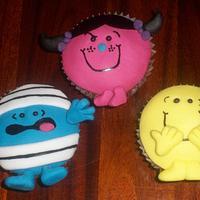 Mr Men Cupcakes!