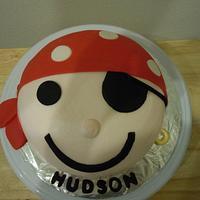 Pirate smash cake by Karen Seeley
