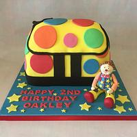 My boys Mr Tumble 2nd birthday cake