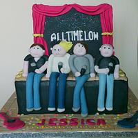 All Time Low Stage Cake