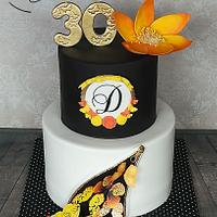Buterflay cake