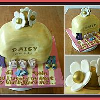 Daisy Perfume Bottle