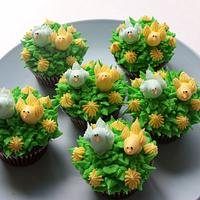 Easter's cupcakes