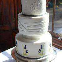 Muscari Wedding Cake.