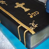 Confirmation Cake by Simone Barton