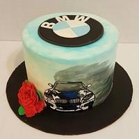 BMW Lovers Cake