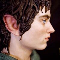 3D Frodo Cake by Marta Hidalgo