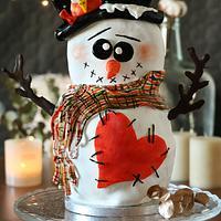 Xmas Choco Snowman