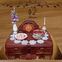 birthday cake - morning tea