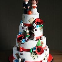Card & Boardgame Weddingcake