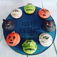 Halloween Cupcake board