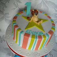 Edison's 1st birthday
