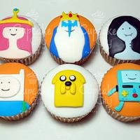 Adventure time characters Cupcakes by CupcakeCity