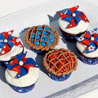 Pinwheels and Pies for the 4th of July!