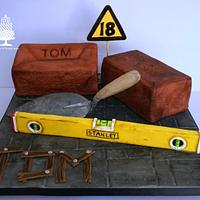Bricklayers & Builders cake