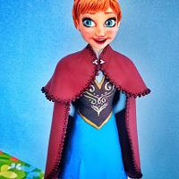 Anna Frozen topper