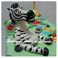 #1 safari cake