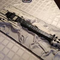 Synster Schecter Custom Guitar  by Marie Therese