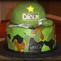 Army Cake by Misty