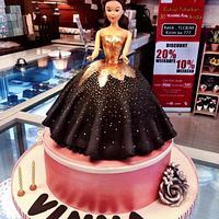 Simple Black Dress Barbie