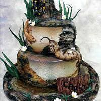 Reptile cake!