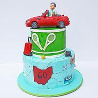 60th Birthday Cake!