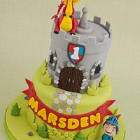 Mike the Knight Castle Cake