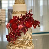 Indian Wedding Cake 3