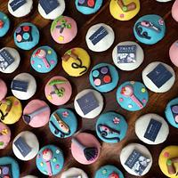Salon theme Cupcakes