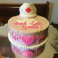 Nurse's going away cake